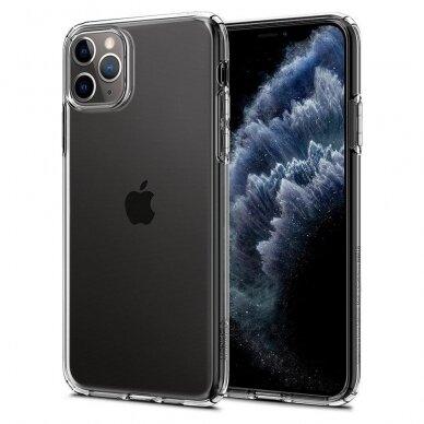 [RETURNED ITEM] Etui Spigen Liquid Crystal Iphone 11 Pro Crystal Clear 9