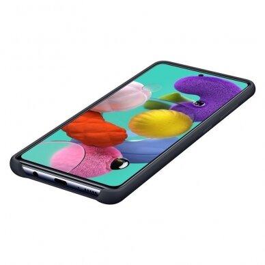 [RETURNED ITEM] Samsung Silicone Cover Flexible Gel Case for Samsung Galaxy A51 black (EF-PA515TBEGEU) 5