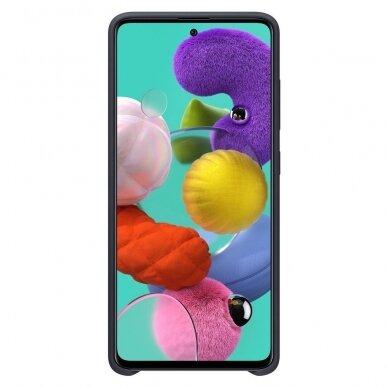 [RETURNED ITEM] Samsung Silicone Cover Flexible Gel Case for Samsung Galaxy A51 black (EF-PA515TBEGEU) 2