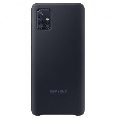 [RETURNED ITEM] Samsung Silicone Cover Flexible Gel Case for Samsung Galaxy A51 black (EF-PA515TBEGEU)