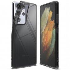 Ringke Air Ultra-Thin Cover Gel TPU Case for Samsung Galaxy S21 Ultra 5G black (ARSG0042)