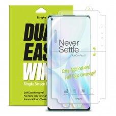 """Ekrāna aizsargplēve """"Ringke Dual Easy Wing 2x self dust removal screen protector"""" Oneplus 8 (ESOP0003)"""
