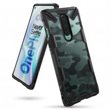 "Plastmasas vāciņš ""Ringke Fusion X Design"" OnePlus 8 Camo Melns (XDOP0004)"