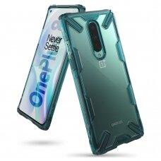"Plastmasas vāciņš ""Ringke Fusion X durable"" OnePlus 8 Zaļš (FXOP0012)"