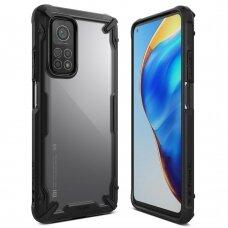 Ringke Fusion X durable PC Case with TPU Bumper for Xiaomi Mi 10T Lite black (FXXI0032)