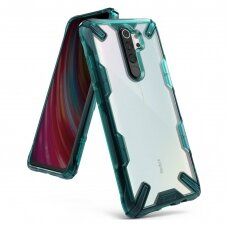 Ringke Fusion X durable PC Case with TPU Bumper for Xiaomi Redmi Note 8 Pro green (FXXI0017) (XRNT8PR)