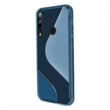 S-Case Flexible Cover TPU Case for Huawei P40 Lite E blue