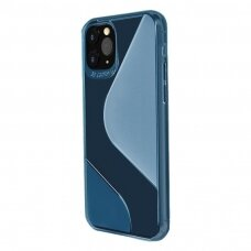 S-Case Flexible Cover TPU Case for Samsung Galaxy A21S blue