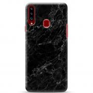"""Samsung Galaxy A20s silikoonist telefoni korpus ainulaadse disainiga, 1,0 mm """"u-case Airskin Marble 4 design"""""""