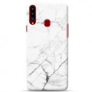 """Samsung Galaxy A20s silikoonist telefoni korpus ainulaadse disainiga, 1,0 mm """"u-case Airskin Marble 6 design''"""