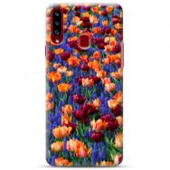 """Samsung Galaxy A20s silikoonist telefoni korpus ainulaadse disainiga, 1,0 mm """"u-case Airskin Nature 2 design"""""""