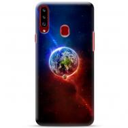 """Samsung Galaxy A20s silikoonist telefoni korpus ainulaadse disainiga, 1,0 mm """"u-case Airskin Nature 4 design"""""""