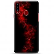 """Samsung Galaxy A20s silikoonist telefoni korpus ainulaadse disainiga, 1,0 mm """"u-case Airskin Space 3 design"""""""
