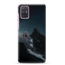 "Samsung Galaxy A02s Unique Silicone Case 1.0 mm ""u-case Airskin Mountains 1 design"""