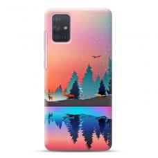 "Samsung Galaxy A02s Unique Silicone Case 1.0 mm ""u-case Airskin Nature 5 design"""