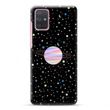 "Samsung Galaxy A02s Unique Silicone Case 1.0 mm ""u-case Airskin Planet design"""