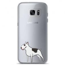 """Samsung Galaxy a3 2017 TPU case with unique design 1.0 mm """"u-case Airskin Doggo 3 design"""""""