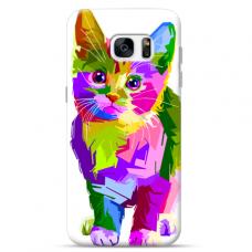 "Samsung Galaxy a3 2017 Unique Silicone Case 1.0 mm ""u-case Airskin Kitty design"""