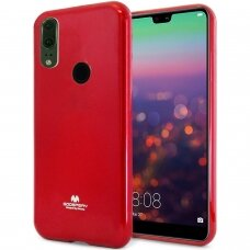 """samsung galaxy a40 Cover """"Jelly Case"""" silicone Red"""