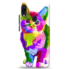 "Samsung Galaxy A40 Unique Silicone Case 1.0 mm ""u-case Airskin Kitty design"""