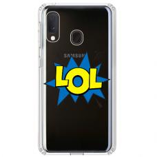"Samsung Galaxy A40 Unique Silicone Case 1.0 mm ""u-case Airskin LOL design"""