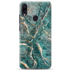 "Samsung Galaxy A40 Unique Silicone Case 1.0 mm ""u-case airskin Marble 1 design"""