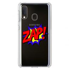 "Samsung Galaxy A40 Unique Silicone Case 1.0 mm ""u-case airskin ZAP design"""