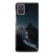 "Samsung Galaxy a41 Unique Silicone Case 1.0 mm ""u-case Airskin Mountains 1 design"""