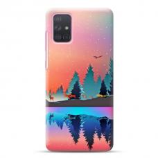 "Samsung Galaxy a41 Unique Silicone Case 1.0 mm ""u-case Airskin Nature 5 design"""