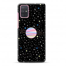 "Samsung Galaxy a41 Unique Silicone Case 1.0 mm ""u-case Airskin Planet design"""