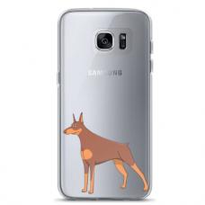 """Samsung Galaxy a5 2016 TPU case with unique design 1.0 mm """"u-case Airskin Doggo 6 design"""""""