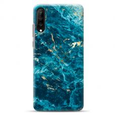 "Samsung Galaxy A50 silicone phone case with unique design 1.0 mm ""u-case Airskin Marble 2 design"""