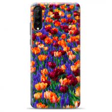 "Samsung Galaxy A50 silicone phone case with unique design 1.0 mm ""u-case Airskin Nature 2 design"""
