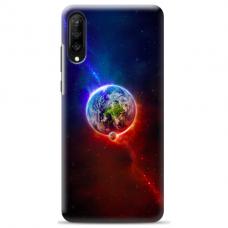 "Samsung Galaxy A50 silicone phone case with unique design 1.0 mm ""u-case Airskin Nature 4 design"""