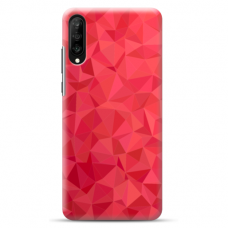 "Samsung Galaxy A50 silicone phone case with unique design 1.0 mm ""u-case Airskin Pattern 6 design"""