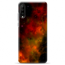 "Samsung Galaxy A50 silicone phone case with unique design 1.0 mm ""u-case Airskin Space 1 design"""