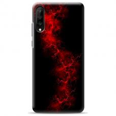 "Samsung Galaxy A50 silicone phone case with unique design 1.0 mm ""u-case Airskin Space 3 design"""