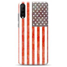 "Samsung Galaxy A50 silicone phone case with unique design 1.0 mm ""u-case Airskin USA design"""