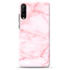 "Samsung Galaxy A50 silicone phone case with unique design 1.0 mm ""u-case airskin Marble 5 design"""