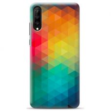"Samsung Galaxy A50 silicone phone case with unique design 1.0 mm ""u-case airskin Pattern 3 design"""