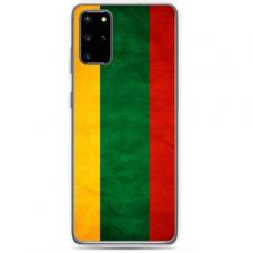 "Samsung Galaxy A51 silicone phone case with unique design 1.0 mm ""u-case Airskin Lietuva design"""