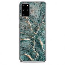 "Samsung Galaxy A51 silicone phone case with unique design 1.0 mm ""u-case Airskin Marble 1 design"""