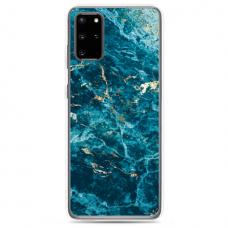 "Samsung Galaxy A51 silicone phone case with unique design 1.0 mm ""u-case Airskin Marble 2 design"""