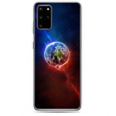 "Samsung Galaxy A51 silicone phone case with unique design 1.0 mm ""u-case Airskin Nature 4 design"""