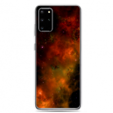 "Samsung Galaxy A51 silicone phone case with unique design 1.0 mm ""u-case Airskin Space 1 design"""