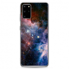 "Samsung Galaxy A51 silicone phone case with unique design 1.0 mm ""u-case Airskin Space 2 design"""