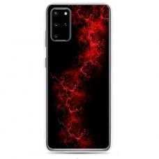 "Samsung Galaxy A51 silicone phone case with unique design 1.0 mm ""u-case Airskin Space 3 design"""