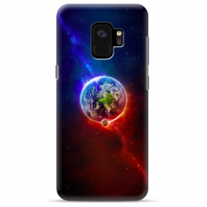 "Samsung Galaxy a6 2018 silicone phone case with unique design 1.0 mm ""u-case Airskin Nature 4 design"""