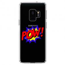 "Samsung Galaxy a6 2018 silicone phone case with unique design 1.0 mm ""u-case airskin POW design"""