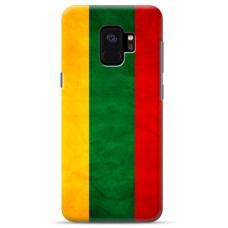 "Samsung Galaxy a6 plus 2018 silicone phone case with unique design 1.0 mm ""u-case Airskin Lietuva design"""